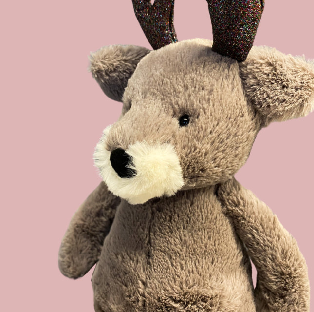 Softy toy Gray Deer